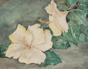 Anderson, Loulie. Tampa. Watercolor, 15 and five eights by 19 and three eights inches.