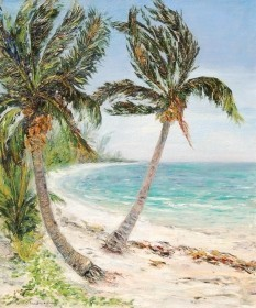 Baekeland, Celine. Coconut Grove, Miami. Florida Coast, 1937. Oil on canvas,