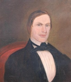 Barksdale, George.  Stephen Foster, Author Swannee River. Oil on canvas, 20 by 24 and one half inches.