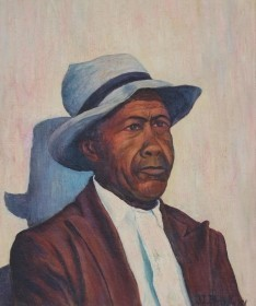 Benway, Doris. Old South, Arnold Jackson, Daytona Beach. Oil on board, 20 by 24 inches.