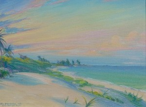 Brandien, Carl. Boca Raton, 44. Oil on board, 10 by 12 inches.