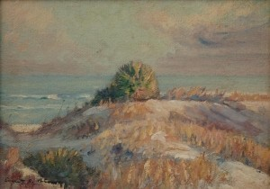 Brown, Everett Currier. Oil on board, 10 by 14 inches.