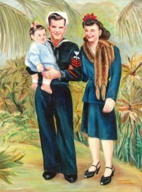 Chayn-Winter, Miami, Fla. 1945. OIl on canvas, 30 by 40 inches.