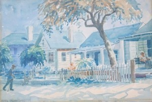Dodd, Mark Dixon. St. Petersburg. Watercolor, 10 by 14 one half inches.