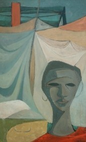 Emery. Don W. Oil on board, 19 34 by 31 12 inches.