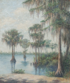 Howland, Dovie Taylor, Tampa. Oil on board, 20 by 24 inches.