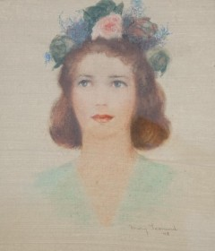 Leonard, Mary. Venice, Sarasota. Pastel, 12 by 14 and one half inches. Mrs. Marjorie Van Antwerp, Honorary Campaign Chair, Sarasota Opera.