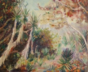 McKelvey, Ralph. Gulf Key Jungle. Oil on canvas, 20 by 24 inches.
