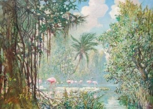 Paleologue, Jean. Miami, 1942. Oil on canvas,
