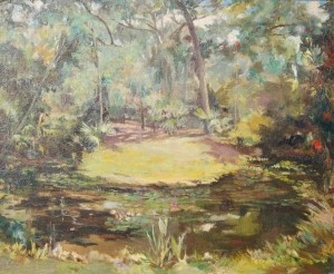 WPA. Florida Art Project. Oil on board, 18 by 22 inches.